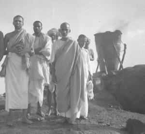 Muruganar, Yogi Ramaiah and Kunju Swami on Arunachala