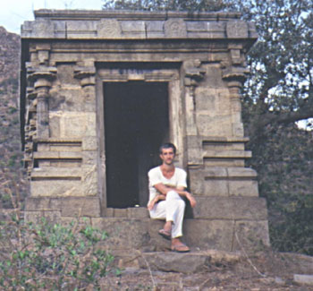 This is how the temple looked when I lived there. The photo was taken several years later when I went back for a visit.