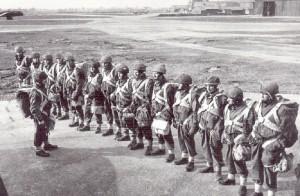 Parachute-line-up