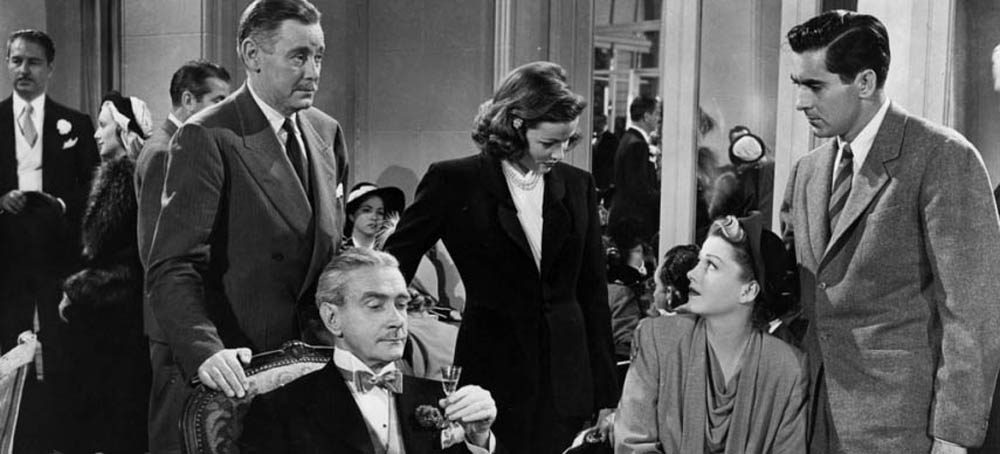 The principal characters in the 1946 film, The Razor's Edge