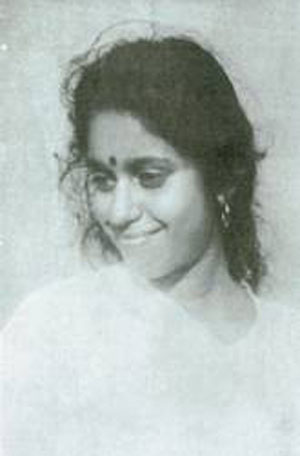 Saradamma, shortly after her Self-realisation