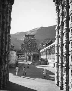 View through the Raja Gopuram entrance