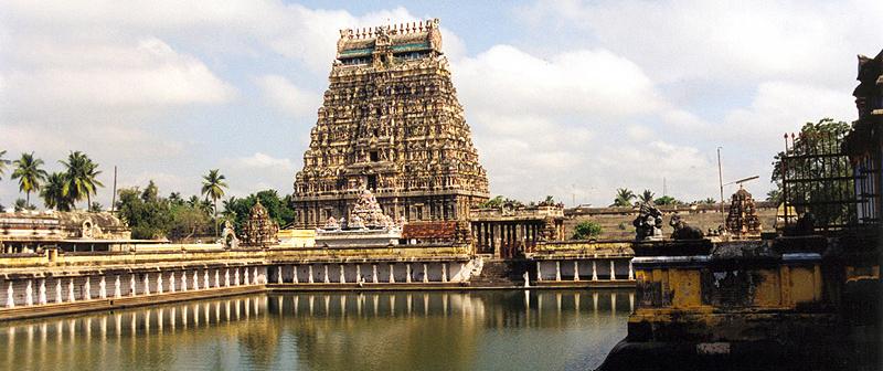 The temple in Chidambaram