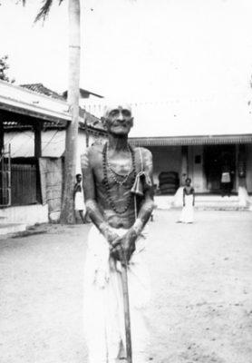 Ramanapadananda at Ramanasramam