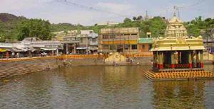 A tirtham in the Tirurttani temple