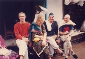 With-Papaji-in-Haridwar