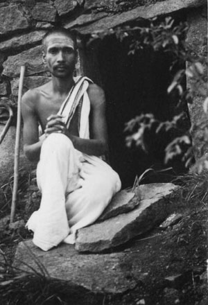 Raja Iyer on the lower slopes of Arunachala