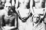 Bhagavan and his mother around 1916
