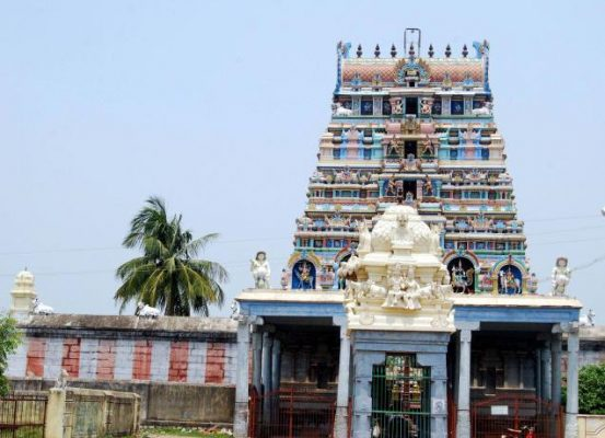 The temple at Rishivandiyam