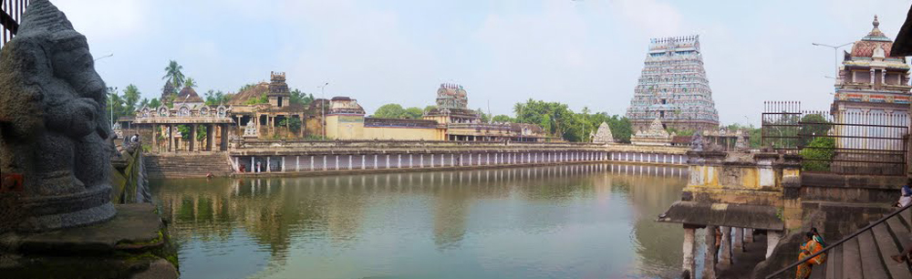 The ChidambaramTemple and its principal tank