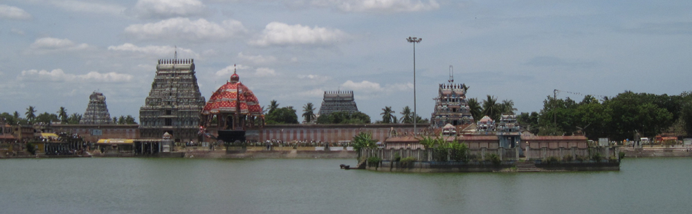 The temple at Tiruvarur