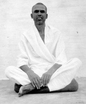 Muruganar, probably taken in the 1940s